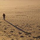 Shadow at Dillons beach by the57man