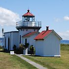 Point no Point Lighthouse by Charles Hallsted