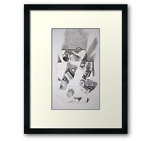 Film Study Framed Print