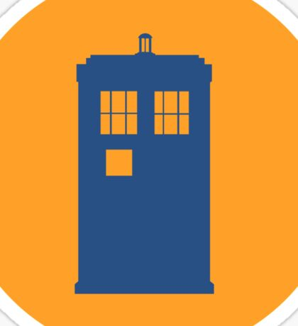 Doctor Who Icon Sticker