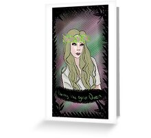 Bunny The Gator Queen Greeting Card