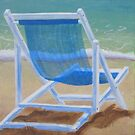 Beach Chairs (1 of 2) by Pamela Burger