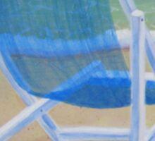 Beach Chairs (1 of 2) Sticker