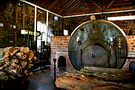 Inside the Boiler House at Sovereign Hill by Christine Smith