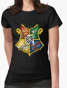 Hogwarts Pokémon Womens Fitted T-Shirt