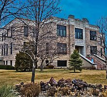 Big Horn County (Montana) Court House by Bryan D. Spellman