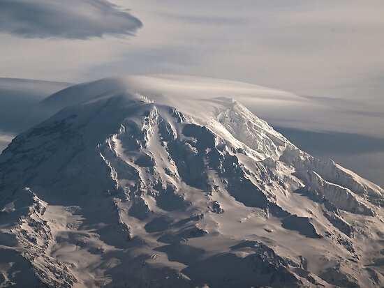 Mt. Rainier Washington State by Leigh Stone