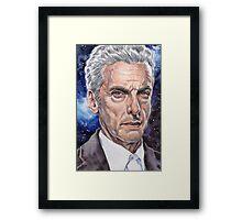 The Doctor (Peter Capaldi) Framed Print
