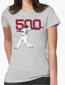 500 - David Ortiz Womens Fitted T-Shirt