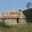 stone cabin by sharpbokeh