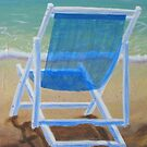 Beach Chairs (2 of 2) by Pamela Burger