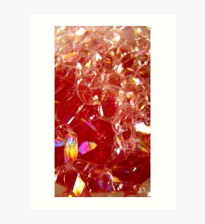Red Bubble Rainbow Art Print