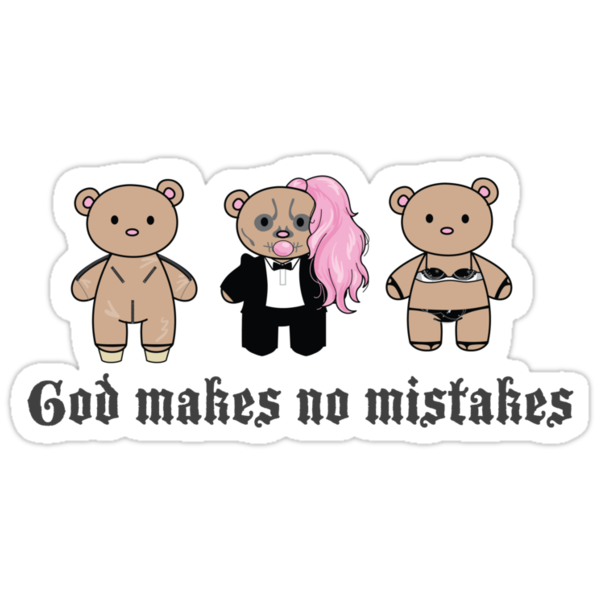 God makes no mistakes by funfang