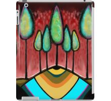Red Tree Landscape - Beatrice Ajayi iPad Case/Skin