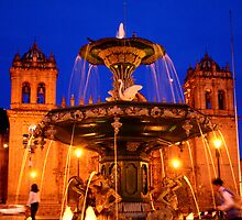 Plaza de Armas, Cusco by Peter  Felvus