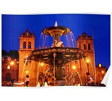Plaza de Armas, Cusco Poster