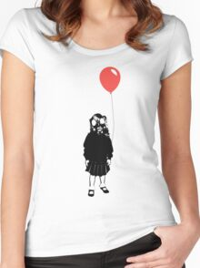 What lovely weather we are having... Women's Fitted Scoop T-Shirt