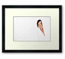 kerry white Framed Print