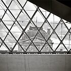 Louvre-Pyramid by Amir Youssef