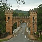 Hampden Bridge in the Kangaroo Valley by Michael Matthews