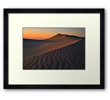 Lava Creeks Framed Print