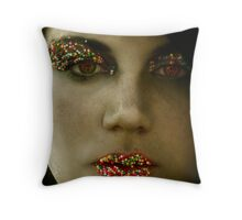 Sugarcoated Throw Pillow