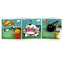 Kid Monsta Triptych 4 Poster