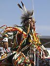 Native American  Grass Dancer #1 by WesternArt