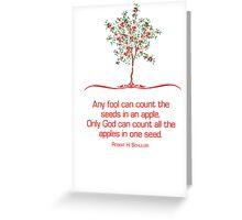 Seeds Greeting Card