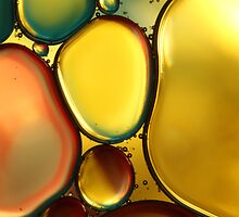 Oil & Water Abstract II by Sharon Johnstone