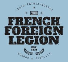 French Foreign Legion - Honour and Fidelity black by FFLinfo