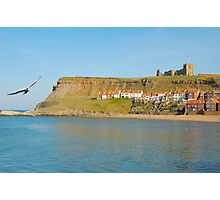 Whitby Abbey on Hilltop Photographic Print
