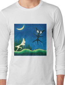 Black Cat White Cat Long Sleeve T-Shirt