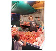 malay boy market Poster