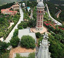 View from Temple de Sagrat Cor by John Gaffen