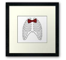 Doctor to the Bone Framed Print