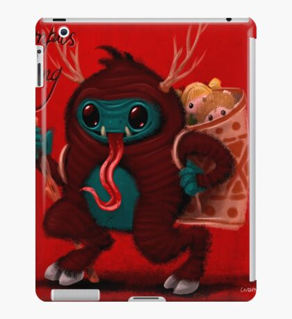 Krampus iPad Case/Skin