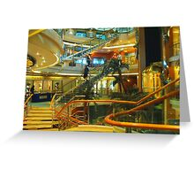 Four Floors of Lights and Sparkles Greeting Card