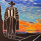 Admiring the sunrise by Dorothy ROWNTREE