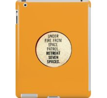 Miss-A-Go: Under Fire From Space Patrol iPad Case/Skin