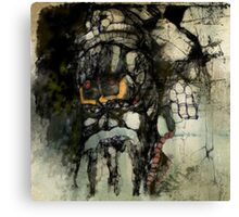 A Monk Canvas Print