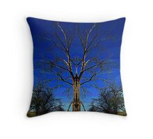 The Witch Doctor Tree ! Throw Pillow