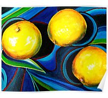 PortFolio...The Meyer Lemons Poster