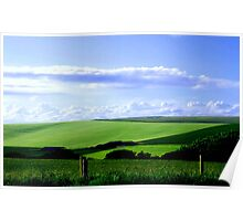 South Downs England ©  Poster