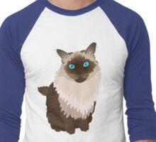 Lucy-Fur Men's Baseball ¾ T-Shirt