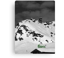 If Carlsberg Made Ski Resorts... Canvas Print
