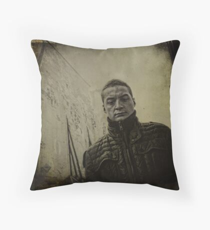 { rue } Throw Pillow
