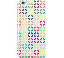 Bright Multi Colored Modern Quatrefoil iPhone Case/Skin