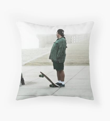 Meeting With The Board's Approval Throw Pillow