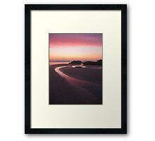 The Tranquil Light Framed Print